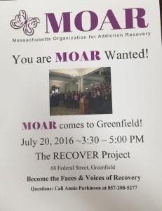 MOAR Meeting @ RPX   Greenfield   Massachusetts   United States